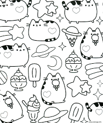 40 Coloriage Kawaii Chat Amazing Coloriage