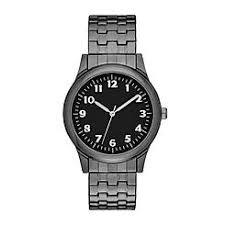 men s watches kmart men s expansion bracelet watch