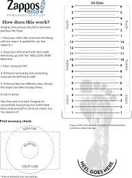 Kids Shoe Size Chart Shoe Size Chart Kids Toddler Shoe