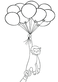 coloring pages curious george curious birthday coloring pages picture coloring book