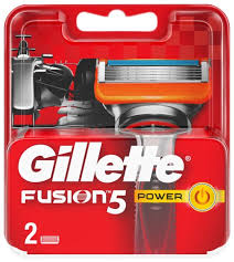 Купить <b>Сменные кассеты Gillette</b> Fusion5 Power, 2 шт. по низкой ...