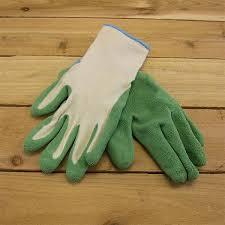 garden gloves. Green Bamboo Garden Gloves G