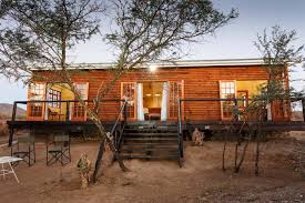 klein karoo log cabin at chandelier game lodge country accommodation