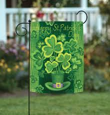 day shamrock garden flag 12 5 x