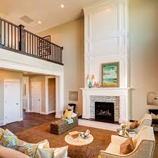 Fireplace Designs For High Ceilings  HomecaTall Fireplace