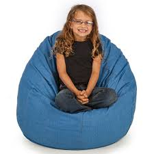 durable denim bean bag chair