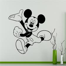 mickey mouse wall art ideas