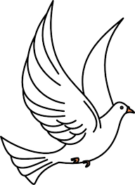 dove flying clipart. Delighful Dove Flying Dove Clip Art Throughout Clipart All Free Download