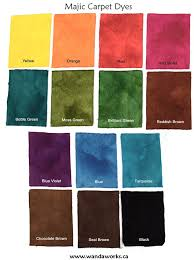 carpet paint. majic carpet dye samples: using 1/32 tsp over yard paint