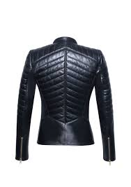 Designer Black Leather Jacket Black Leather Jacket Women