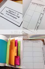 To Kill A Mockingbird Interactive Notebook Trial Organizer