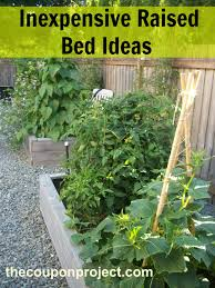 Small Picture Frugal Gardening Four Inexpensive Raised Bed Ideas