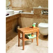 bamboo bathroom sink deluxe bamboo shower seat bench with storage shelf free today bamboo style