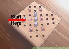 Wooden Sequence Board Game How to Win the Peg Solitaire Game English Board with Pictures 52