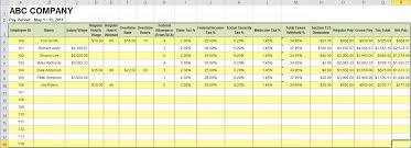 Payroll Format In Excel Under Fontanacountryinn Com