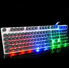 Bàn phím giả cơ nút tròn led 7 màu tx30 - Sắp xếp theo liên quan sản phẩm