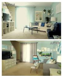 Makeover Living Room Before And After Living Room And Dining Room Makeover Youtube