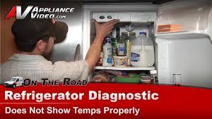 Frigidaire Refrigerator Light Blinking Electrolux Frigidaire Refrigerator Diagnostic Repair Thawing Not Cooling Phs68ejsb0