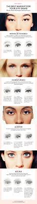 here s the best eye makeup for your eye shape