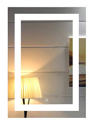 bathroom mirrors with led lights. 20X28 Inch Wall Mounted Led Lighted Bathroom Mirror With Touch  Switch(GS099-2028) Bathroom Mirrors Led Lights A
