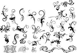 Floral Decorative Pack Png Free Vector Download 94141 Free Vector