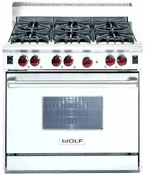 wolf gas stove. Wolf 30 Gas Range Inch Classic Stainless Steel Manual Stove N