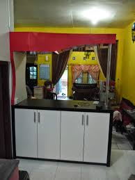 kitchen set lurus dan minibar semarang kitchen set semarang