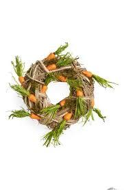 umbra wallflower wall decor white set: allstate carrot wreath   allstate carrot wreath