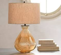 table lamp glass base australia filler ideas fillable yellow
