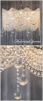 appealing diy crystal chandelier 25 best ideas about make a chandelier on mobiles