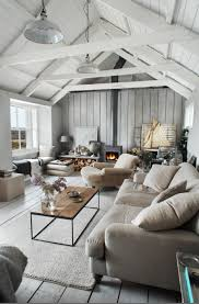 impressing vaulted ceiling wall decor decorating ideas with rustic living room style