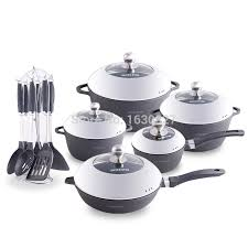 pot sets on sale. Wonderful Pot Hot Sale Non Stick Aluminum 23 Pieces Cooking Pots With Double Side Frying  Pan Pot And Pans Cookware Set On Aliexpresscom  Alibaba Group Intended Sets On A