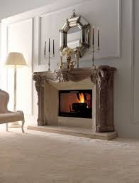 decorate fireplace stylish way with candle stands