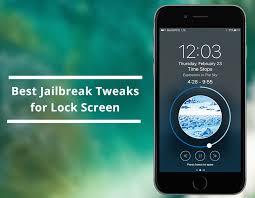 tweaks for iphone lock screen