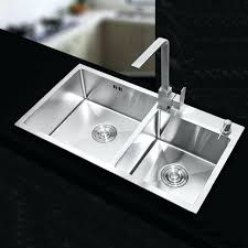 deep double kitchen sink stainless steel kitchen sinks sets double bowl drawing double drainer 9 inch