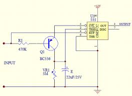 time delay circuit using 555 timer