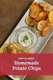 Guaranteed they won't last long! Recipejoes Crispy Homemade Potato Chips Rocket City Mom