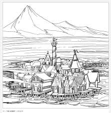 Tolkien's World: A Colouring Book Free Pattern Download - WHSmith Blog