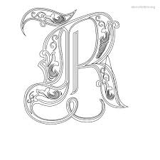 Custom Letter Art Template Cool Stencil Letters R Printable Free R Stencils Stencil Letters Org