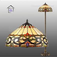 ivy tiffany style handcrafted floor lamp