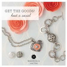 bloom and grow with the new direct s pany magnolia and vine jewelry and accessories that can be changed in a snap