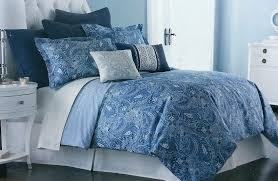 blue paisley bedding home ideas important blue paisley bedding poppy and fritz cotton comforter set free blue paisley bedding