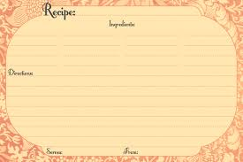 Free Printable Recipe Cards Call Me Victorian