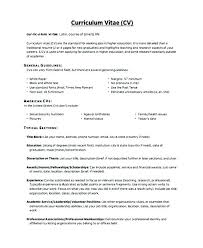 How To Format A Resume In Word Mesmerizing Brief Resume Format Curriculum Vitae Resume Format Curriculum Vitae