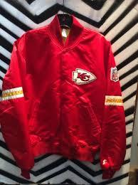 Vintage Kc » Jacket Starter Chiefs Boardwalk Red
