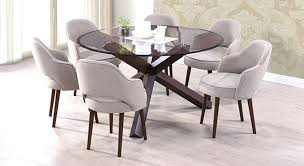 glass round dining tables round glass dining table lovable round 6 seat dining table glass dining