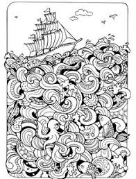 Small Picture 15 CRAZY Busy Coloring Pages for Adults Crazy busy Adult