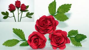 Rose Paper Flower Making Flowers Making How To Make Paper Flowers Rose Crepe Paper Rose Flower Diy Paper Rose Julia Diy
