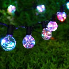 Outdoor Novelty Lights Novelty G40 Vintage Backyard Wedding Decoration String