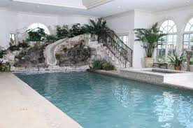 indoor pools in mansions with slides. Interesting Mansions Goodcoolmansionswithpools3indoorpoolwithslide600x397jpg  600397 On Indoor Pools In Mansions With Slides N